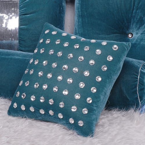 Diaidi Fashion Luxury Hold Pillow Cover Back Cushion Set Home Decoration Crystal Throw Pillowcase Sleep Pillow Cover