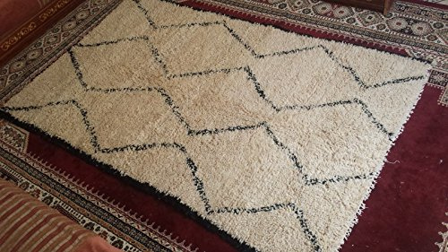 Beni Ourain Rug authentic wool rug