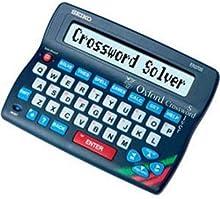 Comprar Seiko ER3700 - Dispositivo para solucionar crucigramas, azul
