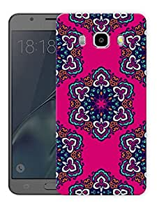 "Indian Rangoli Ethnic Pattern Printed Designer Mobile Back Cover For ""Samsung Galaxy J5 2016 Edition"" (3D, Matte, Premium Quality Snap On Case)"