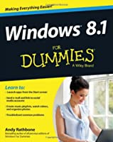 Windows 8.1 For Dummies Front Cover