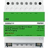 Merten 682292 Analogaktormodul REG/4fach, lichtgrau
