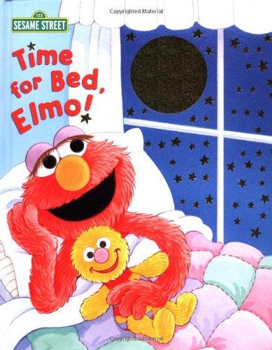 Time for Bed, Elmo (Sesame Street) (Sparkle Storybooks)