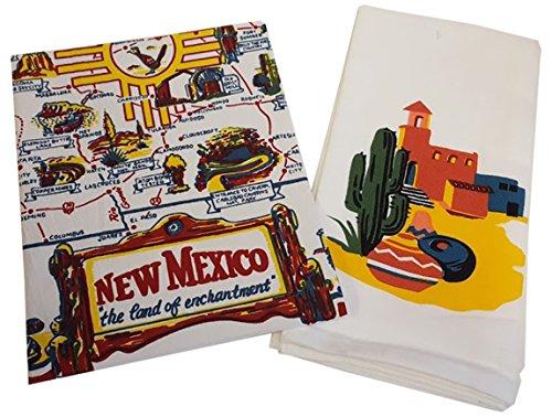 New Mexico & Adobe Dish Towel Set (New Mexico Tea Company compare prices)