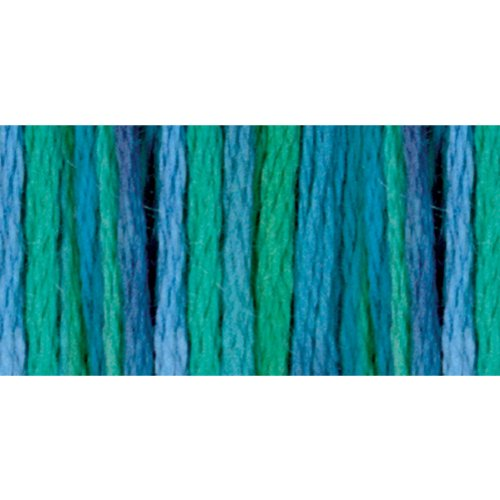 DMC 417F-4030 Color Variations Six Strand Embroidery Floss, 8.7-Yard, Monet's Garden