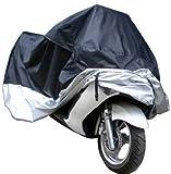 StarSide Motorcycle Bike Moped Scooter Cover Waterproof Rain UV Dust Prevention Dustproof Covering (L)