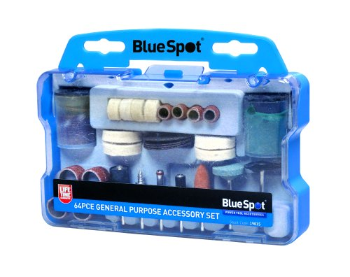 Blue Spot 19015 General Purpose Accessory Set (64 Pieces)