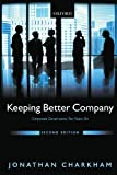 img - for Keeping Better Company: Corporate Governance Ten Years On by Jonathan Charkham (2008-09-15) book / textbook / text book