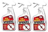 3 x No More Spider Spray Non Harmful Spider Stop Spray Repeller Deterrent *New*