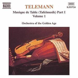 Musique De Table Part 1 Volume 1