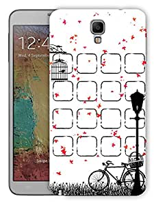 "Humor Gang Cute Bird Cage Scenery Printed Designer Mobile Back Cover For ""Samsung Galaxy Note 3 Neo"" (3D, Matte, Premium Quality Snap On Case)"