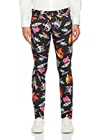 Love Moschino Pantalón (Negro / Multicolor)