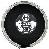 Hyperwear SteelBell Steel Shot-Filled Neoprene Free Weight, 20-Pound
