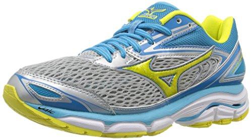 mizuno-womens-wave-inspire-13-running-shoe-grey-yellow-8-b-us