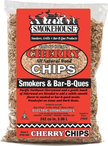 Smokehouse Products All Natural Flavored Wood Smoking Chips- Cherry (Cherry Wood Chips compare prices)