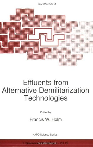 Effluents de Alternative démilitarisation Technologies (Science de l'OTAN partenariat sous-série: 1 (fermé))