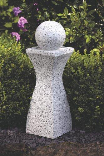 Deko Brunnen mit Beleuchtung 6 LEDs