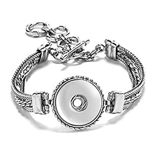 Amazon.com: Ginger Snaps 1 Snap Bracelet: Jewelry Findings: Jewelry
