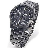 【PULSAR】セイコーSEIKO パルサー ソーラー充電 100m防水 クロノグラフ 腕時計 メンズ クオーツ PX5003X1 [並行輸入品]