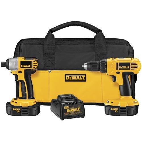 DEWALT-DCK235C-18-Volt-NiCad-2-Tool-Kit