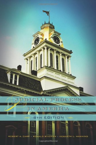 Judicial Process in America (Central Issues In Jurisprudence compare prices)