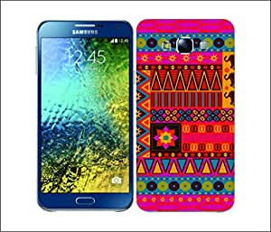 Galaxy Printed 1565 African Pattern Culture Hard Cover for Samsung S3