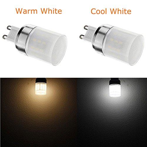 Arlybaba 2Pcs 3W G9 3014Smd 48-Led Energy Saving Warm White Light Bulb Crystal Capsule Spotlight Lamps