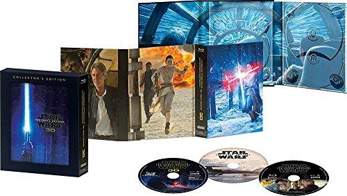 【早期購入特典あり】 スター・ウォーズ/フォースの覚醒 3Dコレクターズ・エディション(「スター・ウォーズ/フォースの覚醒」ペーパーバッグ付) [Blu-ray]