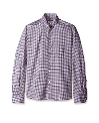 Eton Men's Contemporary Fit Checked Sportshirt
