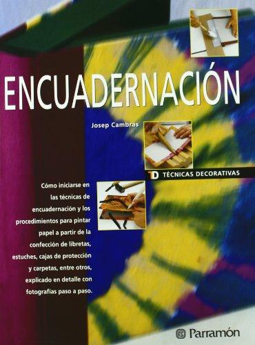 ENCUADERNACION - TECNICAS DECORATIVAS