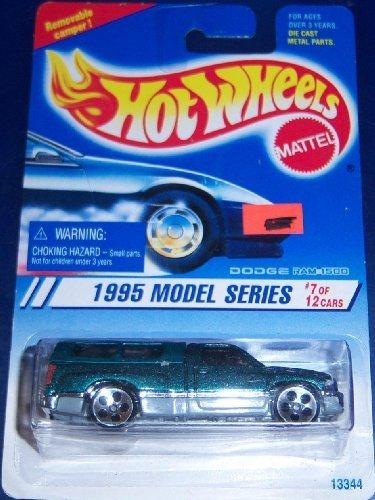 Hotwheels 1995 model series #7 Dodge Ram 1500 (Dodge Ram Model Kit compare prices)