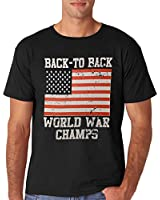 AW Fashion's Men's Back To Back World War Champs T-shirt