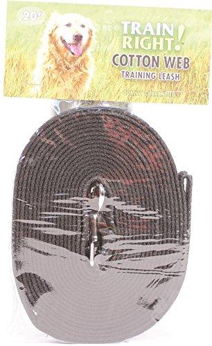 Artikelbild: C Cotton Web Lead 5/8'x20ft - black