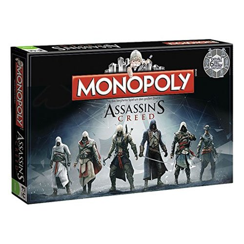 Board Game – Assassins Creed Monopoly-Brettspiel -. Winning Moves