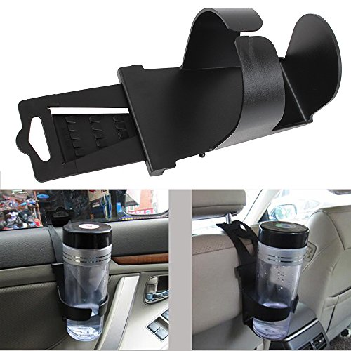 Universal Scalable Auto Car Vehicle Door Seat Mount Drink Bottle Holders Cup Holder Clip on Stand (Car Door Stand compare prices)