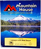 Mountain House Lasagne with Meat Sauce - 2 Servings