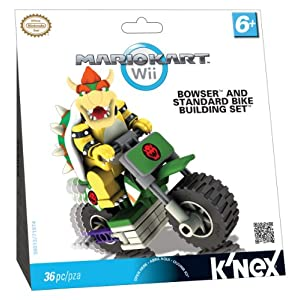 Nintendo Nintendo Bowser and Standard Bike Building Set
