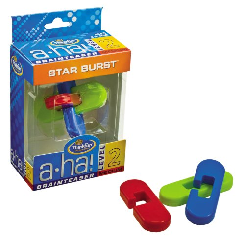 ThinkFun a-ha! Star Burst Brainteaser (3 pc) - 1