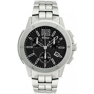 R&Co RGB00001/42/04 - Reloj de pulsera hombre, acero inoxidable, color plateado