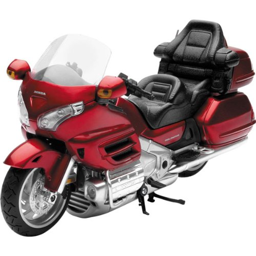 New Ray Honda 2010 Goldwing Replica Motorcycle Toy - Burgundy / 1:12 Scale