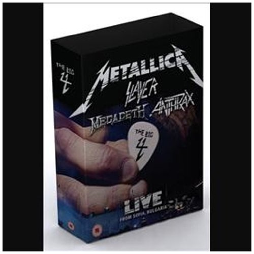 Metallica Slayer Megadeth Anthrax - The big 4 - Live from Sofia, Bulgaria (2 DVD+5 CD)