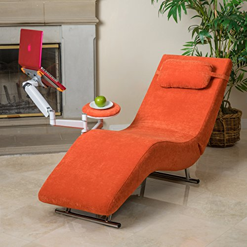 Great deal furniture for Burnt orange chaise lounge