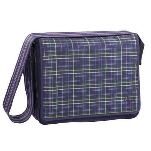 you are interesting in lassig messenger bag diaper bag check purple travelitemsales20. Black Bedroom Furniture Sets. Home Design Ideas
