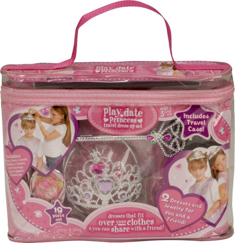 Rubies Princess Play Date Set Child, Size 4 to 8