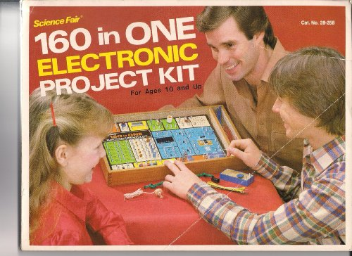 160 In One Electronic Project Kit For Ages 10 And Up Manual (Science Fair Cat. No. 28-258)