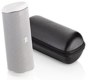 JBL Flip II Enceinte portable 2.0 Bluetooth/Jack Blanc Mat