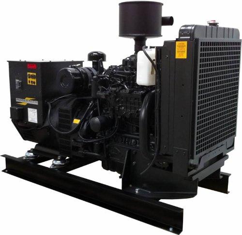 Power Tech Pt-30-A, 30,000 Watt Diesel Generator Open Power Unit