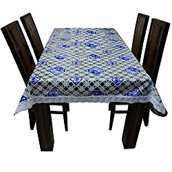 The Trendy Dining Table Cover Printed 6 Seater