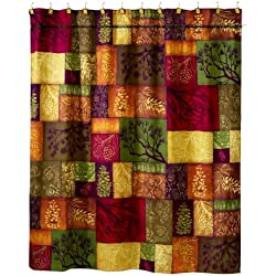 Avanti Linens Adirondack Pine Shower Curtain, Multi