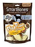Smart Bones 10 Count Play Time Peanut Butter Dog Chew, Small